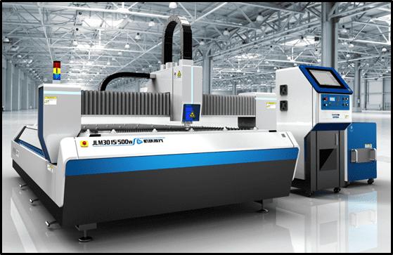 เครื่องตัดไฟเบอร์เลเซอร์ / Fiber Laser กำลัง 500 W